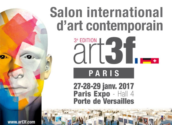 Salon international d 39 art contemporain art3f 3 me for Salon international d art contemporain toulouse